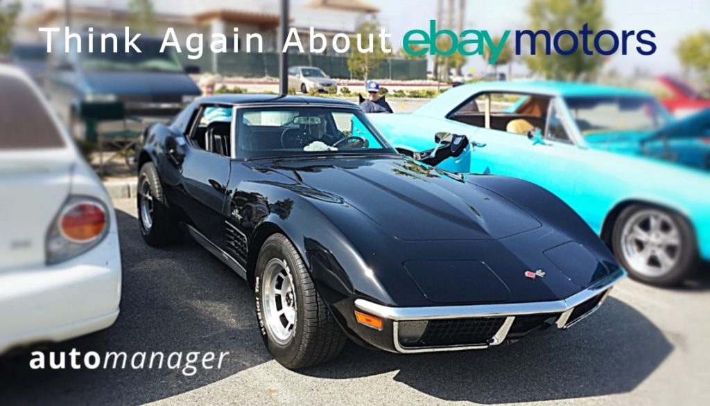 AutoManager Recommend eBay Motors